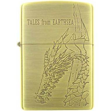 Zippo - Brass Case & Wooden Box -Serial Number- Tales from Earthsea / Gedo Senki -no production(new)