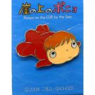 1 left - Pin Badge - Ponyo - looking right - Ghibli - 2008 - no production (new)