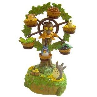 Music Box - Ferris Wheel - Totoro & Chu & Sho & Mei & Nekobus - Ghibli - 2011 (new)