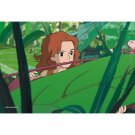 150 pieces Mini Jigsaw Puzzle - happa no aida kara - Arrietty - Ghibli - Ensky - made in Japan (new)