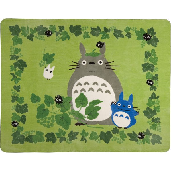Rug / Hot Carpet Cover - 200x250cm - Totoro & Chu & Sho & Kurosuke - Ghibli - 2011 (new)