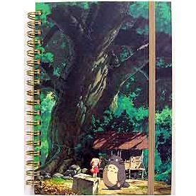 2 left - Ring Notebook B6 - Rubber Band - Totoro & Mei & Kusunoki - 2011 - no production (new)