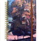 Ring Notebook B6 - Rubber Band - Howl & Sophie & Heen & Kabu - Howl's Moving Castle - 2011 (new)