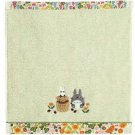 Wash Towel - Applique & Embroidery & Lace - Non Twisted Thread - Totoro - Ghibli - 2011 (new)