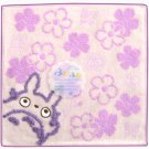 Mini Towel - purple - NonThread Steam Shirring - Totoro - Ghibli - out of production (new)