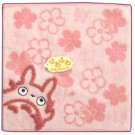 Mini Towel - pink - NonThread Steam Shirring - Totoro - Ghibli - out of production (new)