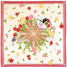 Big Handkerchief - 53x53cm - Jiji & Rose - Kiki's Delivery Service - Ghibli - no production (new)