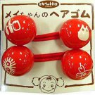3 left - 2 Hair Rubber Band - Sho Totoro & Kurosuke & Crab- made in Japan - out of production (new)