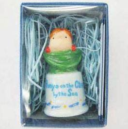 Thimble - Ponyo in Bucket - Ceramics - Ghibli - 2008 (new)