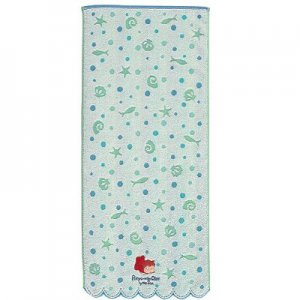 Face Towel - Embroidery & Applique - wavy edge - Ponyo - Ghibli - 2010 (new)