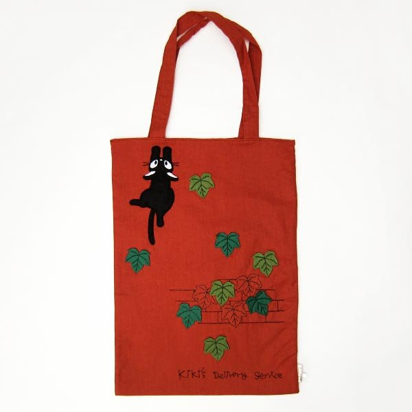 Tote Bag - Applique & Embroidery- Jiji & Lily - Kiki's Delivery Service -2011-no production (new)