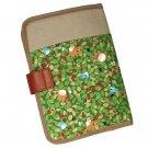 Folder Case - leaves - Totoro & Chu & Sho Totoro & Kurosuke - Ghibli - Ensky - 2011 (new)