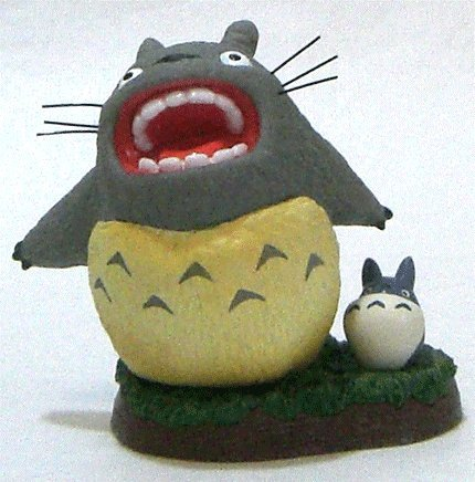 1 left - Figure #12 - 1/16 One-frame Shooting Collection - Totoro & Chu Totoro - no production (new)