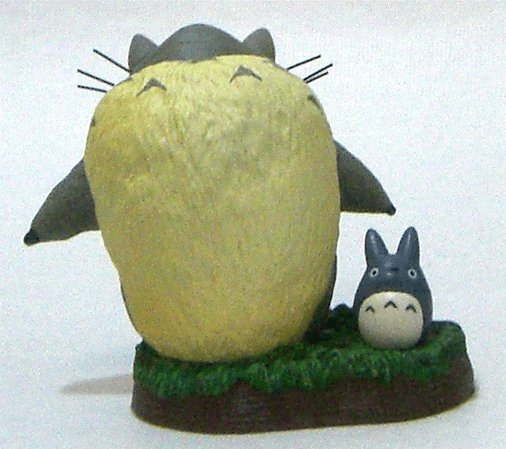 1 left - Figure #8 - 1/16 One-frame Shooting Collection - Totoro & Chu Totoro - no production (new)