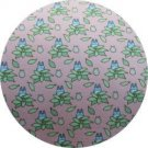 1 left - Necktie - Silk - Print - pink- tree- made in Japan - Totoro - Ghibli - no production (new)