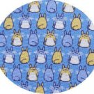 Necktie - Silk - Print - sax - back & front - made in Japan - Totoro - Ghibli - 2011 (new)