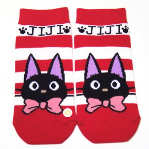 Socks - 23~25cm - red - Jiji - Kiki's Delivery Service - Ghibli - 2012 (new)