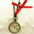 Pendant Watch - Ribbon Charm - Jiji - Kiki's Delivery Service - Ghibli - 2011 (new)