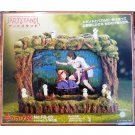 1 left- Photo Frame & Jigsaw Puzzle - Kodama glows - made in Japan - Mononoke - no production (new)