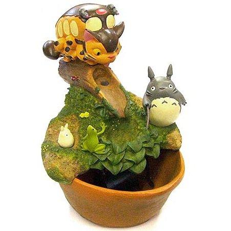 Water Garden - Totoro & Sho Totoro & Nekobus - use water - Ghibli - 2012 (new)