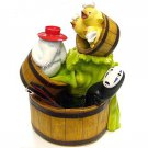 Water Garden - Kaonashi & Ootori sama & Oshira sama -use water- Spirited Away - Ghibli - 2012 (new)