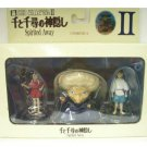 1 left - 3 Figure Set - Sen Haku Yubaba - cominica - Spirited Away - Ghibli - no production (used)