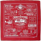Bandana - 53x53cm - made in japan - Porco Rosso - Ghibli - 2012 (new)