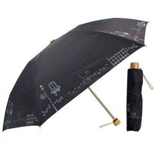 UV Folding Umbrella & Case - Jiji - Kiki's Delivery Service - 2012 (new)