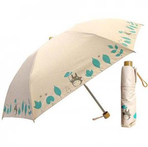UV Folding Umbrella & Case - Totoro & Sho Totoro & Kurosuke - 2012 (new)