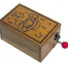 1 left - Music Box / Orgel - Wooden Box - sekiguchi - Mei - Totoro - Ghibli - no production (new)
