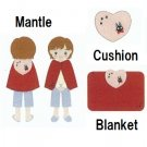 3 Ways - Blanket & Cushion & Mantle - Jiji - Kiki's Delivery Service - 2012 (new)