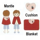 3 Ways - Mantle & Blanket & Cushion - Jiji - Kiki's Delivery Service - 2012 (new)