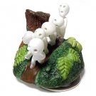 1 left - Music Box / Orgel - Porcelain - Rotary - Kodama - Mononoke - no production (displayed)