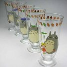 1 left - 5 Glass Cup Set - Juice - Noritake - made in japan - out of production (new)
