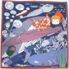 1 left - Handkerchief - 43x43cm - made in Japan - Ponyo - Ghibli - out of production (new)