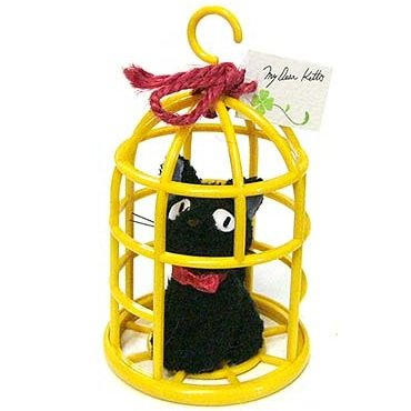 Jiji in Cage - Mascot - Hook - Kiki's Delivery Service - Ghibli - 2013 (new)