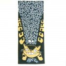 1 left- Towel Tenugui -33x90cm- Dyed- Shishimai Nekobus - made Japan - Totoro -no production (new)
