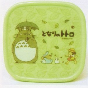 bento lunch box tupperware green made in japan totoro mei 201. Black Bedroom Furniture Sets. Home Design Ideas