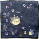 4 left - Handkerchief -29x29cm- morning glory- made in Japan - Totoro - no production (new)