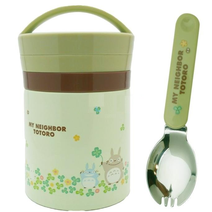 Bento Lunch Box - Thermal Jar - 300ml - Spoon - Totoro - 2013 - no production (new)