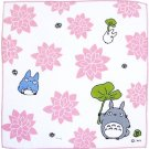 Handkerchief - Gauze - Water Lily - made in Japan - Totoro - Ghibli - 2013 (new)