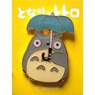 2 left - Pin Badge - Totoro holding Umbrella - Ghibli - no production (new)