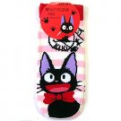 Socks - 23~25cm - short - pink border - Jiji - Kiki's Delivery Service - Ghibli - 2013 (new)