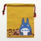 2 left - Kinchaku Bag - Chu Totoro - Ghibli - 2010 - out of production (new)