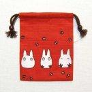 2 left - Kinchaku Bag - Sho Totoro - Ghibli - 2010 - out of production (new)