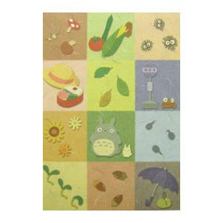 1 left - Mini Notepad - 30 pages - mojiasobi - Totoro - Ghibli - 2009 - no production (new)