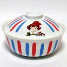 5 left - Bowl with Lid / Donburi - Ceramics - made in Japan - Ponyo - 2009 - out of production (new)