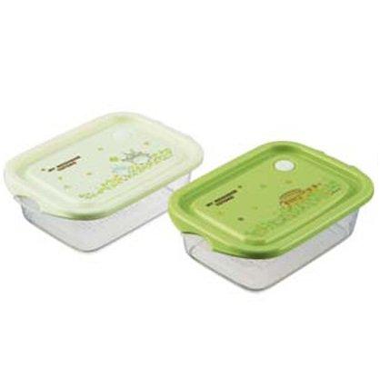 2 bento lunch box tupperware air valve microwave. Black Bedroom Furniture Sets. Home Design Ideas