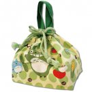 Lunch Bento Bag / Kinchaku - yasai - made in Japan - Totoro - Ghibli - 2012 (new)