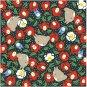 Origami / Folding Paper - 5 designs x 4 sheets - 15x15cm - winter - Totoro - Ghibli - 2013 (new)